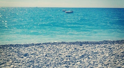 Photo of Beach Blue Beach at Promenade Des Anglais, Nice 06000, France