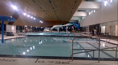 Photo of Pool Regent Park Aquatic Centre at 640 Dundas St. East, Toronto, ON M5A 2B8, Canada
