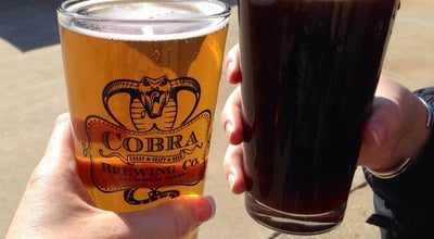 Photo of Brewery Cobra Brewing Company at 146 Whatley Ave, Lewisville, TX 75057, United States