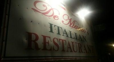 Photo of Italian Restaurant De Marcos at 1097 North Broad Street, Globe, AZ 85501, United States