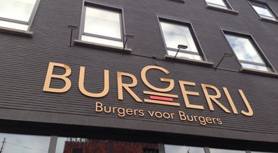 Photo of Burger Joint De Burgerij at Sint-laureiskaai 8, Antwerpen 2000, Belgium