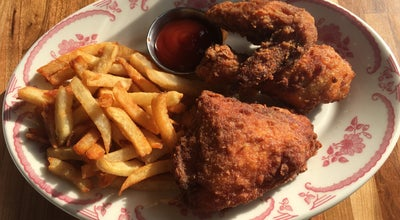 Photo of Fried Chicken Joint Bobwhite Counter at 57 7th Ave S, New York, NY 10014, United States