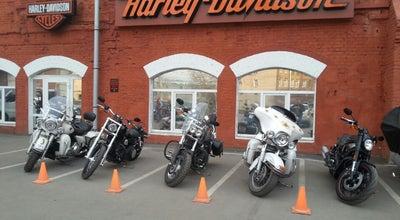 Photo of Motorcycle Shop Harley-Davidson at Арсенальная Ул., 4, Санкт-Петербург, Russia