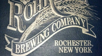 Photo of German Restaurant Rohrbach Brewing Company at 3859 Buffalo Rd, Rochester, NY 14624, United States
