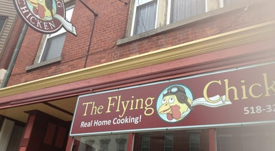 Photo of Fried Chicken Joint The Flying Chicken at 122 4th St, Troy, NY 12180, United States