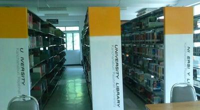 Photo of Library สำนักวิทยบริการและเทคโนโลยีสารสนเทศ KRU at มหาวิทยาลัยราชภัฏกาญจนบุรี, Kanchanaburi, Thailand