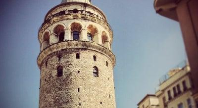 Photo of Historic Site Galata Kulesi at Bereketzade Mah. Büyük Hendek Cad. Galata, Beyoğlu 34420, Turkey