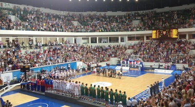 Photo of Basketball Stadium Баскет-холл at Спартаковская Ул., 1, Казань 420107, Russia