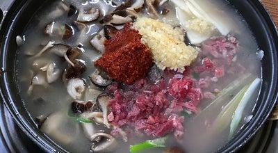 Photo of Korean Restaurant 원조 버섯찌개 경주집 at 서문동, 청주시, South Korea