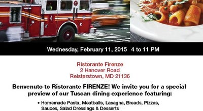 Photo of Italian Restaurant Ristorante Firenze at 2 Hanover Rd, Reisterstown, MD 21136, United States