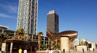 Photo of Beach Passeig Marítim de la Barceloneta at Pg. Marítim De La Barceloneta, Barcelona 08003, Spain