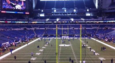Photo of Football Stadium Lucas Oil Stadium at 500 S Capitol Ave, Indianapolis, IN 46225, United States