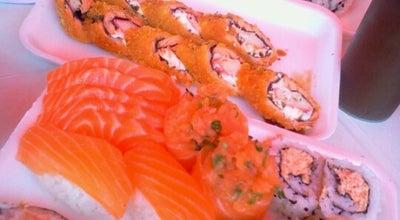 Photo of Japanese Restaurant Temakeria Taishi at Estr. José Blumer, 114-218, Hortolândia 13186-510, Brazil