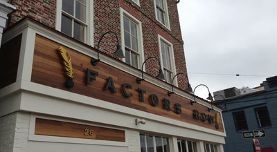 Photo of New American Restaurant Factors Row at 26 Market, Annapolis, MD 21401, United States