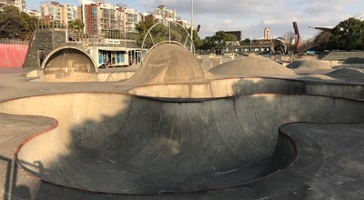 Photo of Skate Park SMP滑板公园 at 2100 Songhu Rd., Shanghai, Ch, China