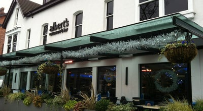 Photo of Italian Restaurant Albert's Restaurant & Bar at 120-122 Barlow Moor Rd, Manchester M20 2PU, United Kingdom