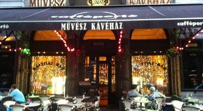 Photo of Cafe Művész Kávéház at Andrássy Út 29., Budapest 1061, Hungary