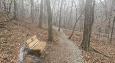 Photo of Trail Parkville Nature Sanctuary at MO, United States