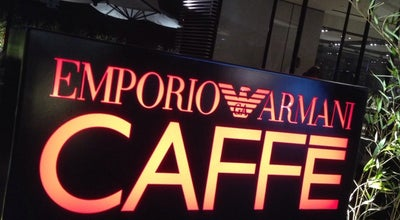 Photo of Cafe Emporio Armani Caffé at Parque Arauco, Las Condes, Chile