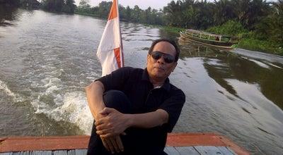 Photo of Lake Sungai Martapura at Indonesia