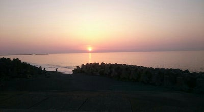 Photo of Beach ヒスイ海岸 at 押上1丁目, 糸魚川市, Japan