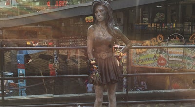 Photo of Outdoor Sculpture Amy Winehouse Statue at Chalk Farm Rd, London NW1 8AH, United Kingdom