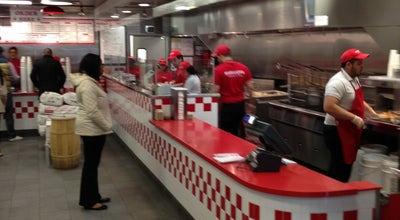 Photo of Burger Joint Five Guys at 343 7th Ave, New York, NY 10001, United States