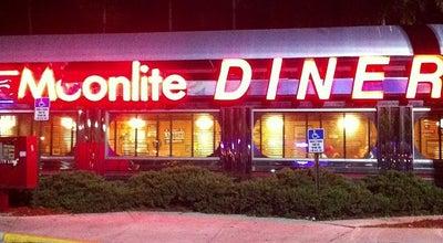 Photo of Diner Moonlite Diner at 6201 N Andrews Ave, Fort Lauderdale, FL 33309, United States