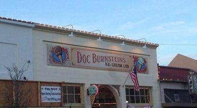 Photo of Ice Cream Shop Doc Burnstein's Ice Cream Lab at 114 W Branch St, Arroyo Grande, CA 93420, United States