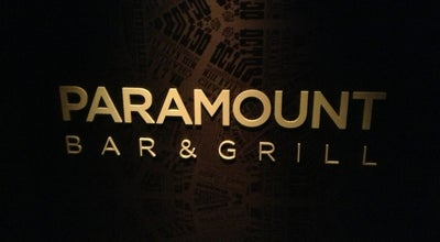 Photo of Nightclub Paramount Bar at 235 W 46th St, New York, NY 10036, United States
