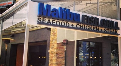 Photo of Seafood Restaurant Malibu Fish Grill at 8000 W Sunset Blvd, Los Angeles, CA 90046, United States