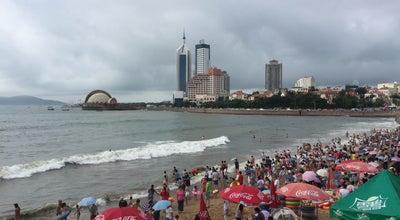 Photo of Beach 栈桥海水浴场 Zhan Bridge Bathing Beath at China