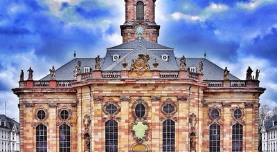 Photo of Church Ludwigskirche at Saarbrücken, Germany