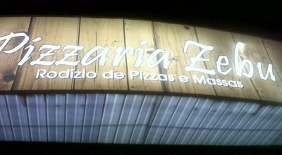 Photo of Pizza Place Pizzaria Zebu at Av. Leopoldino De Oliveira, 4300, Uberaba 38010-000, Brazil