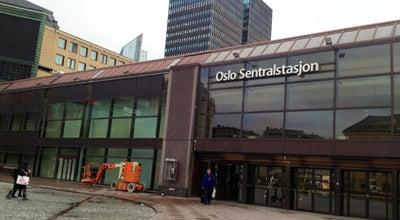 Photo of Train Station Oslo Sentralstasjon at Jernbanetorget 1, Oslo 0154, Norway