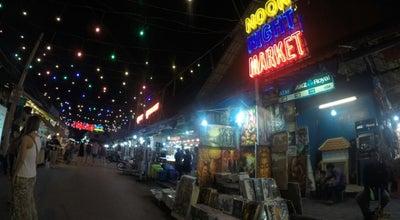 Photo of Flea Market Angkor Night Market (Entrance B) at Angkor Night Market Street, Siem Reap, Cambodia