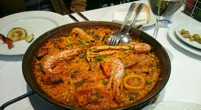 Photo of Paella Restaurant Arrocería Costa Blanca at Bravo Murillo 3, Madrid 28015, Spain