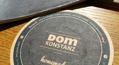 Photo of Cafe DOM Konstanz at Brückengasse 1, Konstanz 78462, Germany