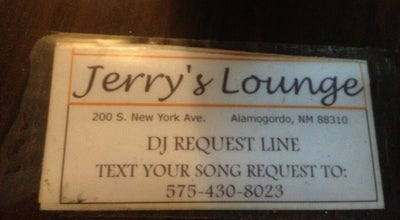Photo of Bar Jerry's Lounge at 200 New York Ave, Alamogordo, NM 88310, United States