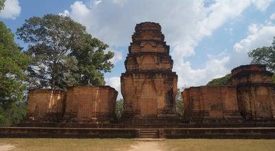 Photo of Historic Site Prasat Kravan at Ankgor, Angkor, Cambodia