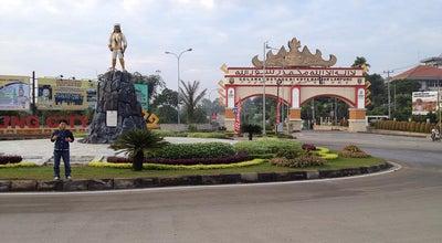 Photo of Monument / Landmark Bundaran Raden Intan at Jl. Soekarno - Hatta, Hajimena, Bandar Lampung, Indonesia