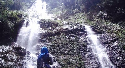 Photo of Trail Poring Langanan Waterfall at Ranau, Malaysia