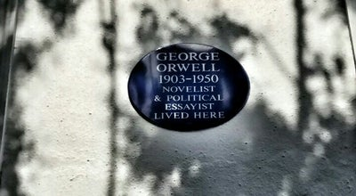 Photo of Monument / Landmark House of George Orwell at 22 Portobello Road, Kensington, United Kingdom