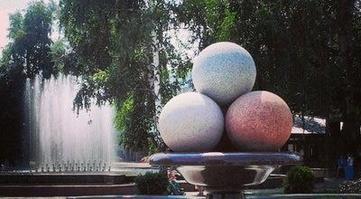 Photo of Monument / Landmark Пам'ятник морозиву / Icecream monument at Новий Бульв., Житомир, Ukraine