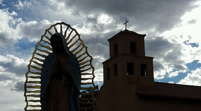 Photo of Church Santuario de Guadalupe at 100 S Guadalupe St, Santa Fe, NM 87501, United States