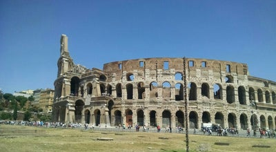 Photo of Historic Site Colloseum at Rome, Italy