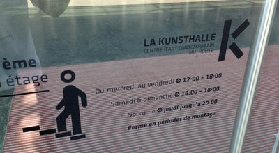 Photo of Art Museum Kunsthalle at Mulhouse, France