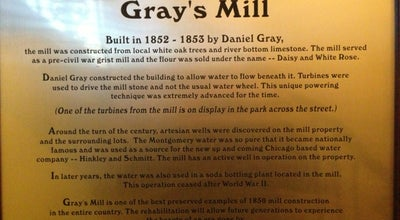 Photo of American Restaurant Gray's Mill at 211 N River St, Montgomery, IL 60538, United States