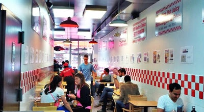 Photo of Burger Joint Five Guys at 316 W 34th St, New York, NY 10001, United States