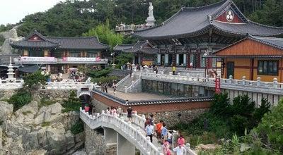 Photo of Temple 해동용궁사 (海東龍宮寺) (Haedong Yonggungsa Temple) at 기장군 기장읍 용궁길 86, Busan 619-902, South Korea